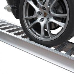 Aluminium oprijplaten auto - 250 cm - 4 ton (2 stuks) 1