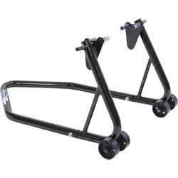 Universele paddockstand budget - zwart - achterwiel 1
