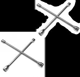 Kruissleutel voor auto - 2 stuks 1