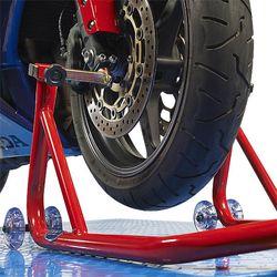 "Paddockstand  ""Bike-Line""  voorvork lift 1"