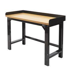 Werkbank PRO met bamboe werkblad en legbord - 150 cm 1