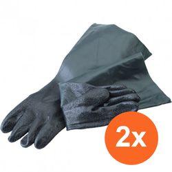 Straalcabine handschoenen - normaal (2 stuks) 1