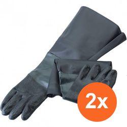 Straalcabine handschoenen - extra groot (2 stuks) 1
