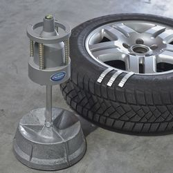 Autobanden balanceer apparaat 1