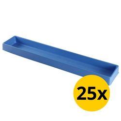 Vakverdeling met 1 compartiment - 25 stuks 1