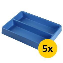 Vakverdeling met 2 compartimenten - 5 stuks 1