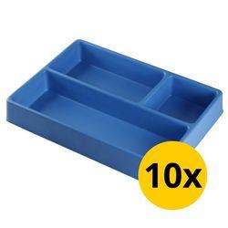 Vakverdeling met 3 compartimenten - 10 stuks 1