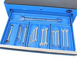 Vakverdeling voor ring-steeksleutels, tangen en schroevendraaiers 1