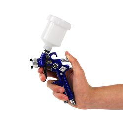 Mini verfspuit met bovenbeker 0,8 mm - Airpress 1