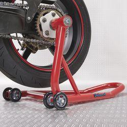 Datona rode paddockstand voor Ducati achterwiel