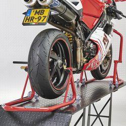 Xtreme paddockstand set voor- en achterwiel