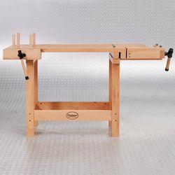 Houten werkbank voor meubelmakers