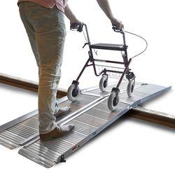Oprijplaat rolstoel 300 cm opvouwbaar 1