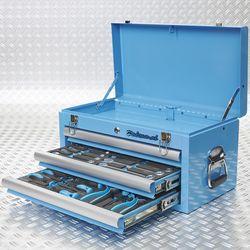 blauwe toolbox 2 lades gevuld 51101 blue 2