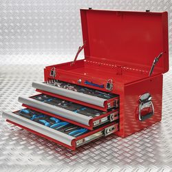 drie lades vol tools 51101 red