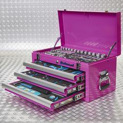 gevulde roze toolbox 51101 pink 4
