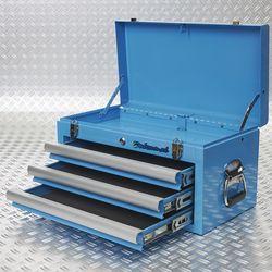 lades en klep open blauwe toolbox 51101 blue