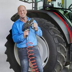 Datona slagmoersleutel bij tractor