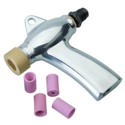 Straalpistool met 4 nozzles voor glasparel stralen