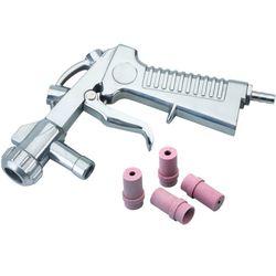 Straalpistool met vier nozzles voor straalcabines