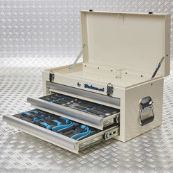 twee lades met tools 51101 white 2