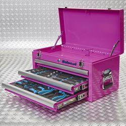 twee modules in toolbox 51101 pink 2