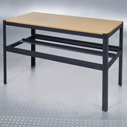 Werktafel zwart