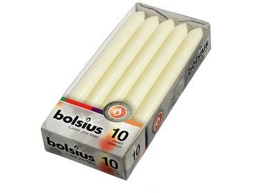 Bolsius dinerkaarsen ivoor - 10 stuks