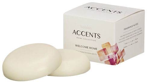 Bolsius Waxmelts Accents Welcome Home - 3 Stuks
