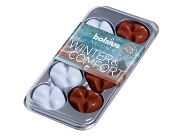 Bolsius waxchips Aromatic Winter & Comfort - 8 stuks