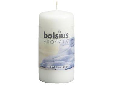 Bolsius stompkaars Aromatic Fresh Linen 120/60 mm