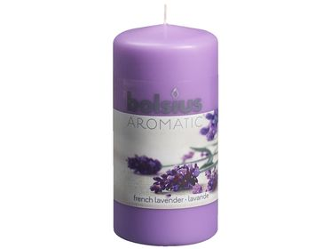 Bolsius stompkaars Aromatic French Lavender 120/60 mm