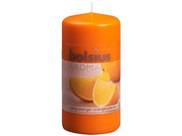Bolsius stompkaars Aromatic Juicy Orange 120/60 mm