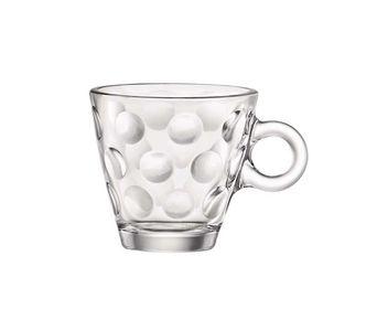 Bormioli Espresso Kopje Dots Transparant