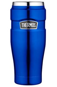 Thermos Thermosbeker King Metallic Blauw