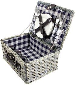 Picknickmand Blauw