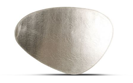 Salt Pepper Placemat Kunstleer Goud 47 x 32 cm