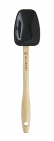 Le Creuset mini lepelspatel zwart 17.5 cm