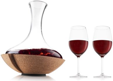 VacuVin decanteerkaraf Swirling Carafe + wijnglazen