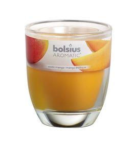 Bolsius geurkaars in glas Aromatic Exotic Mango 80/70 mm