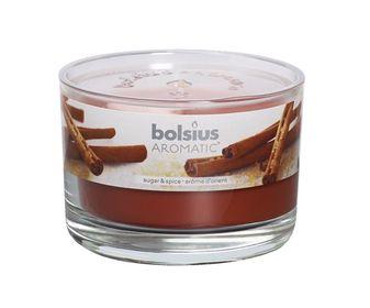 Bolsius geurkaars in glas Aromatic Sugar & Spice 63/90 mm