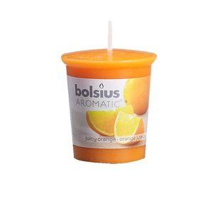 Bolsius geurkaarsje Aromatic Juicy Orange 53/45 mm