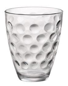 Bormioli Glazen Dots Transparant
