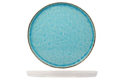 plat bord laguna azzurro 27 cm