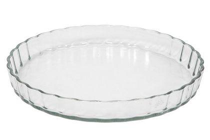 Taartvorm van glas