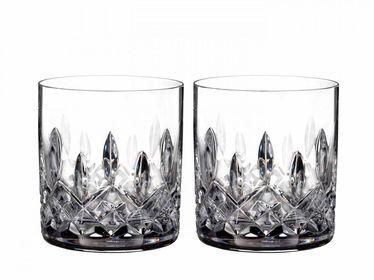 Waterford Lismore Connoisseur Whiskyglas - straight sided - set van 2