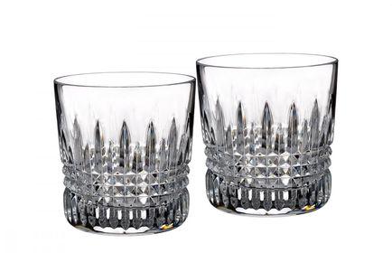 Waterford Lismore Diamond Whiskyglas - set van 2