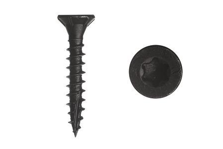 Garden screws black galvanized 4 x 25 mm