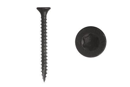 Garden screws black galvanized 4 x 40 mm