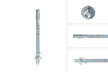 Keilbout M10 x 150 mm voor doorsteekmontage - Per Stuk